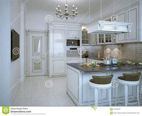 glossy kitchen deco style stock illustration image 61236120