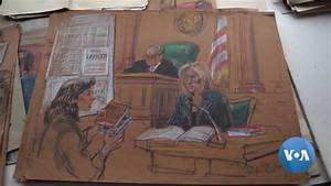 Court Artist Marilyn Church Documents History Through Sketches