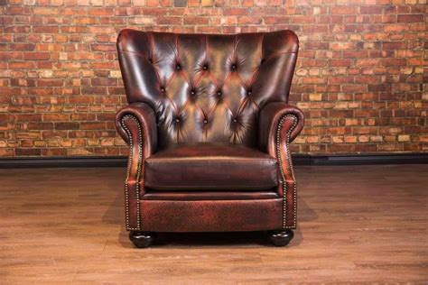 The Aficionado Leather Cigar Chair Collection High Quality Home Office Furniture Decoration For Diwali At Badcock Modular Depot Balcony Show Sale Calgary Wholesale Fashion