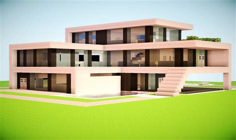 modern minecraft house step by step myideasbedroom
