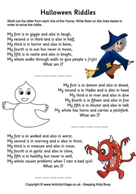 Halloween Fun Riddles by Tputorrent Blog