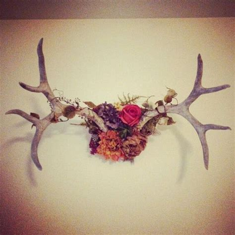 19 deer antler wreath made this seven new uses for