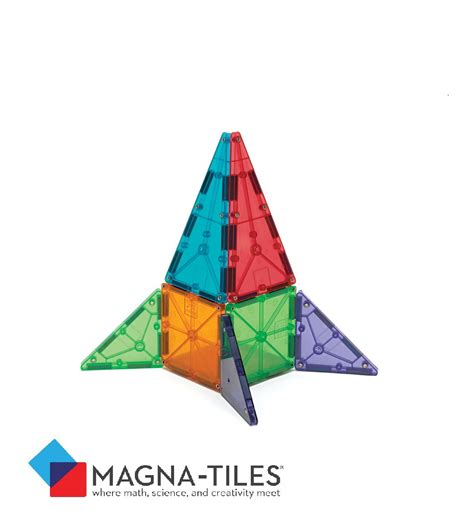 galleon magna tiles clear colors 100 set