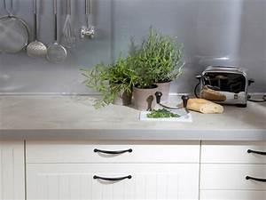 Arbeitsplatten Für Küchen Günstig : k chenarbeitsplatte gestalten beton kork mosaik ~ Markanthonyermac.com Haus und Dekorationen