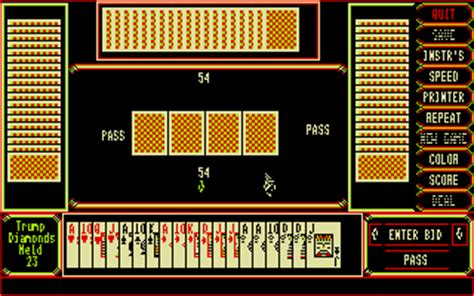 atari st pinochle four handed deck scans dump screenshots ads