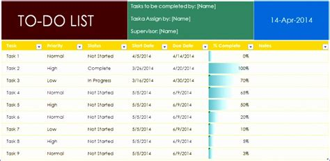 To Do Templateproject Task Template by 5 Project Task List Excel Template Exceltemplates