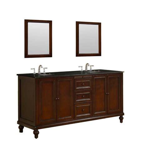 direct vanity sink classic 70 in vanity in brown