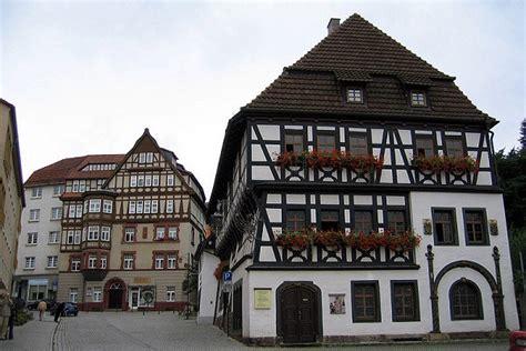 vieille maison allemande typique