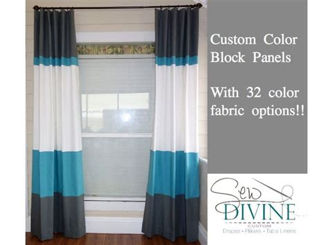 Best 25+ Color Block Curtains Ideas On Pinterest Bay Window Curtains And Blinds Posies Plaid Better Homes Gardens Curtain Room Divider Ideas 30mm Sienna White Ball Finial Pole Orange Blue Shower Spotlight Ready Made Pinch Pleat Rod Hanging Options Bhs