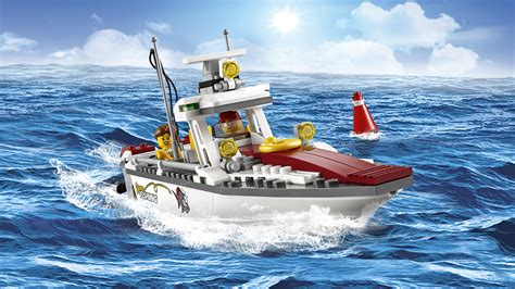 Toy Lego Boat by Lego 60147 Quot Fishing Boat Quot Building Toy Lego Co Uk