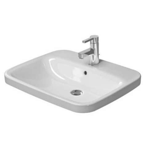 vasque 224 encastrer par le dessus durastyle 037462 duravit