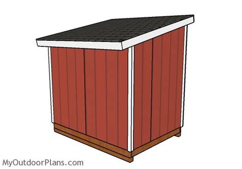 6x8 lean to shed roof plans myoutdoorplans free woodworking plans and projects diy shed