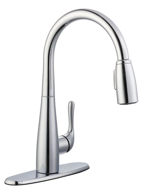 glacier bay 900 series pulldown kitchen faucet in chrome the home depot canada