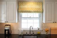 valances window treatments Here Are Some Ideas For Your Kitchen Window Treatments ...