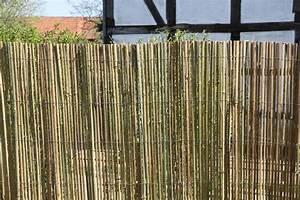 Sichtschutzzaun Bambus Holz : bambusmatte sichtschutzzaun sichtschutz bambus zaun gartenzaun 1 5m h x 2m br ebay ~ Markanthonyermac.com Haus und Dekorationen