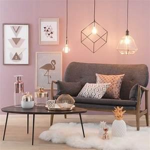 Rose Gold Wandfarbe : como usar a decora o rose gold nos c modos da casa blog mara ~ Markanthonyermac.com Haus und Dekorationen