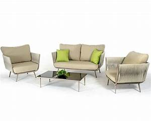 Sofas Couches : contemporary outdoor acrylic fabric sofa set 44p210 set ~ Markanthonyermac.com Haus und Dekorationen