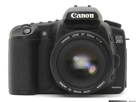 Canon EOS 20D Review Digital Photography Review