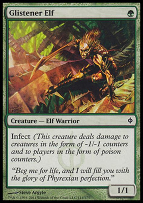 magic the gathering mono green infect budget modern deck profile november 2017 gaming