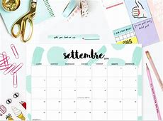 Download scarica e stampa il calendario + weekly planner
