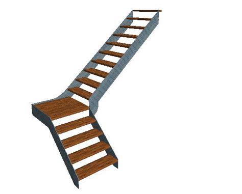 cr 233 ation escalier quart tournant