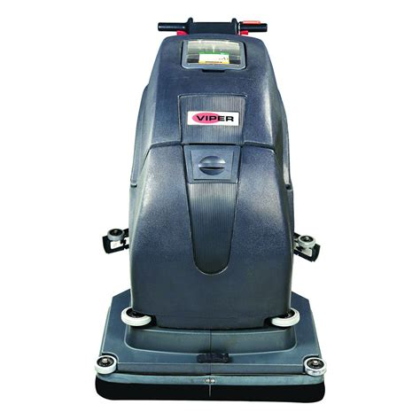 viper fang 28t automatic floor scrubber walk 28 inch cleaning path unoclean
