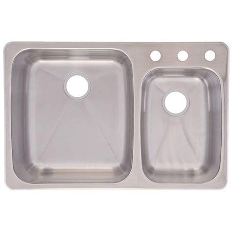 franke usa c2233r 9 dualmount bowl kitchen sink
