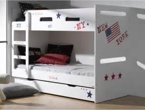 deco chambre avec lit superpos 233 raliss