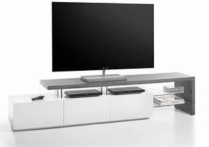 Tv Lowboard Grau : tv board tv lowboard tv schrank tv regal beton grau matt wei neu 30717 ebay ~ Markanthonyermac.com Haus und Dekorationen