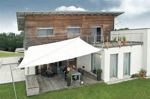 Sonnenschutz Für Garten : moderne beschattung f r ihre terrasse ein sonnensegel nach ma ~ Markanthonyermac.com Haus und Dekorationen