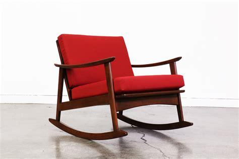 Mid Century Modern Rocking Chair  Vintage Supply Store