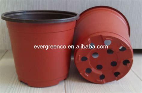 jetable pot de fleurs rond en plastique pas cher jardin pot pots 224 fleurs jardini 232 res id de
