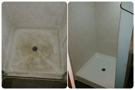 bathtub reglaze or replace don t replace that worn out fiberglass shower pan reglaze