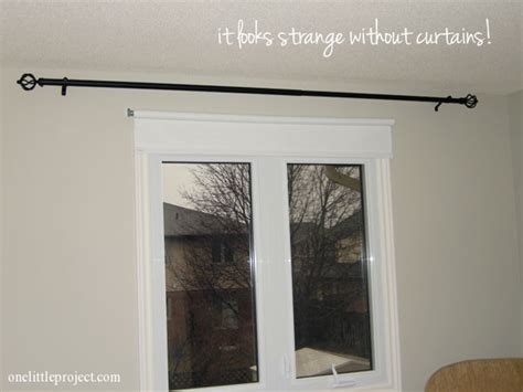 How To Install A Curtain Rod Instant Up Curtain Rod Holders Aqua Curtains Living Room Conversion Kit For Window On Door Nursery Pink Rods West Elm Ready Made Long Picture And Treatments