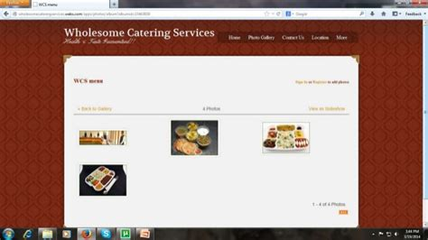 Home Catering Business Business Plan