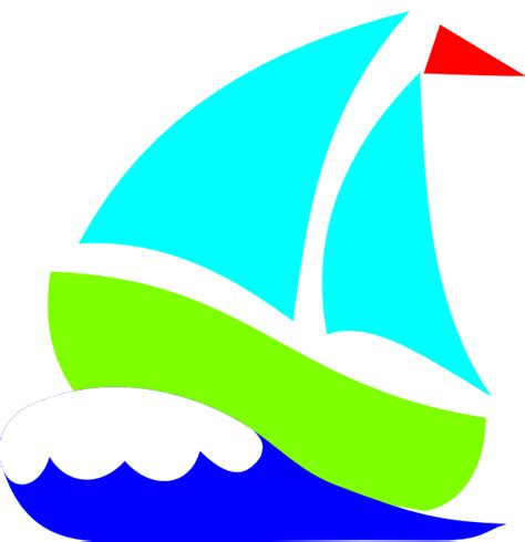 Sailboats Cartoon by Green Sailboat Clipart Clipart Panda Free Clipart Images