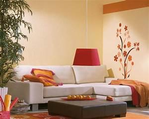 Wohnzimmer Wandfarbe Sand : neue trends f r die wandgestaltung openpr ~ Markanthonyermac.com Haus und Dekorationen
