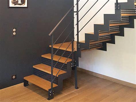 escalier m 233 tal et bois moderne vend 233 e escaliers