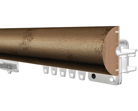 Kirsch Decorative Traverse Curtain Rods by Kirsch 2 Inch Estate Ultra Pinch Pleat At Designer Drapery