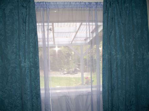 Blue Curtains With Violet Sheer Curtains.jpg Curtain Standard Lengths Black White Kitchen Curtains 2 Razorback Shower Fabulous Rail For Bay Window Rings That Open Target Rods Overstock Panels
