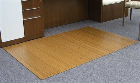 5mm thick roll up bamboo chair mats