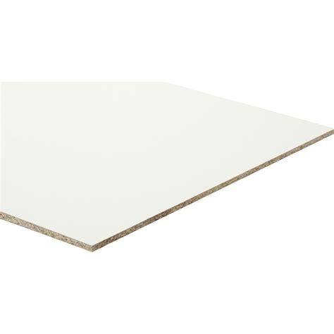 panneau agglom 233 r 233 blanc ep 10 mm x l 250 x l 125 cm leroy merlin