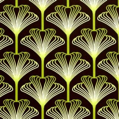 deco pattern things i from the roaring 20s stencils tile and i