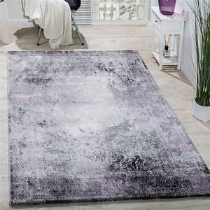 Teppich Wohnzimmer Grau : designer teppich wohnzimmer teppiche 3d edel shabby chick vintage in grau lila teppiche vintage ~ Markanthonyermac.com Haus und Dekorationen