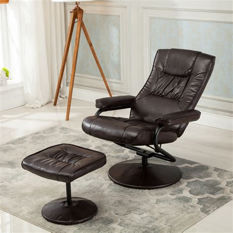 Cing Chair With Footrest Australia by Recliner Chair Swivel Armchair Lounge Seat W Footrest