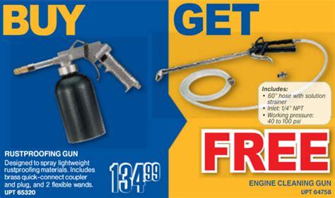 Buy A Rustproofing Gun And Get An Engine Cleaning Gun Free