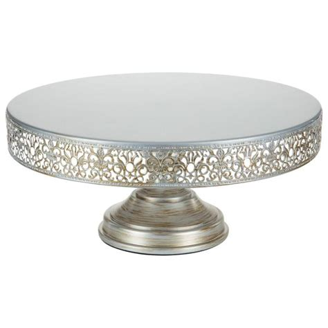 16 inch cake stand 40cm 16 inch antique silver wedding cake stand amalfi