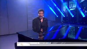 Lionel Richie ,HD, Hello ,live ,Today Show,HD 1080p - YouTube