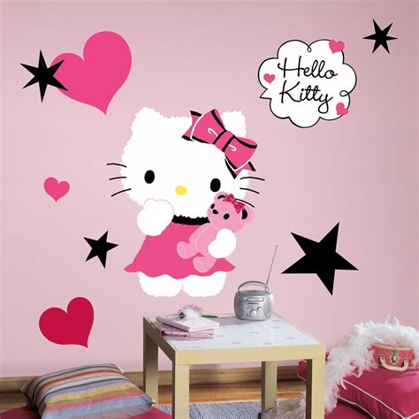 new large hello couture wall decals bedroom stickers pink room decor ebay