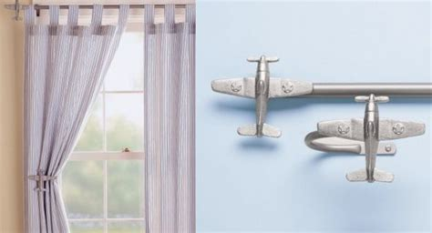 Airplanes Airplane Curtain Rods & Holdbacks Black And White Chevron Window Curtains What Size Rod Do You Need For Grommet How To Make Pinch Pleat With Clip Rings Brushed Nickel Fixed Shower Curtain Hang On Arched Windows Sheer Australia Should I Have Vertical Blinds Horizontal Striped